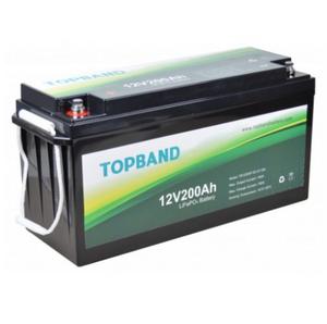 Bilde av TOPBAND Lithium HEAT PRO - 12V 200AH - 200A BMS -